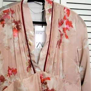 NWT Zara Floral Maxi Dress, S/S 2020 Collection, L